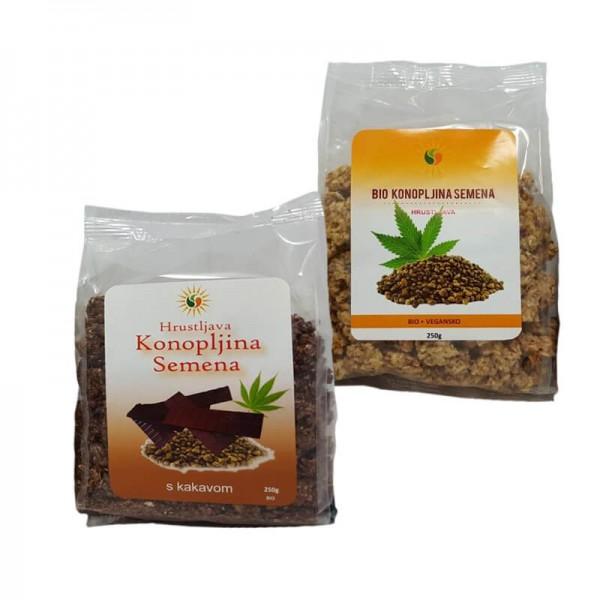 Konopljino seme je eden najbolj popolnih virov beljakovin