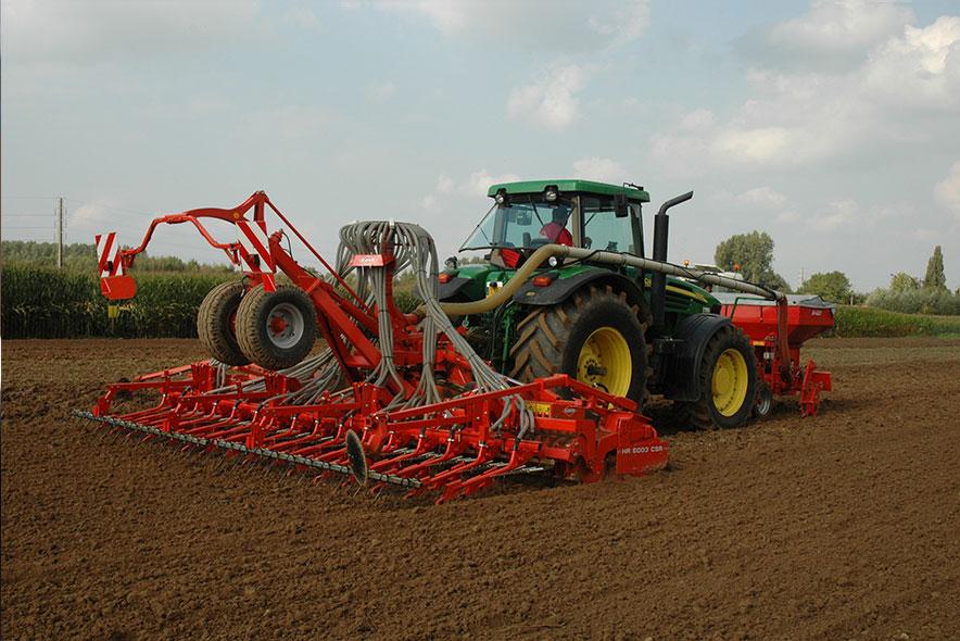 Kmetijska mehanizacija za optimalen donos