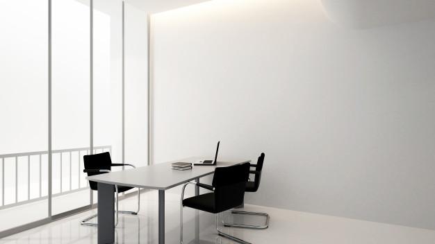 Alu predelne stene omogočajo neoviran prehod naravne svetlobe skozi prostor