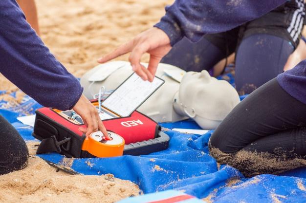 Namestitev zunanjih defibrilatorjev