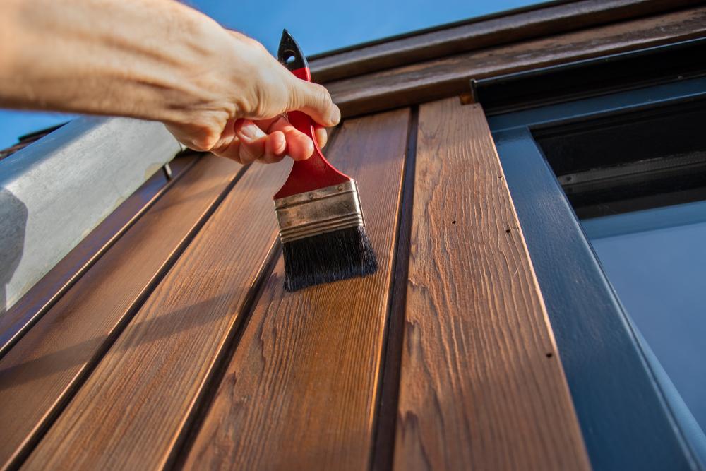 Kakovostna barva za les za več kot odlično zaščito ter privlačen izgled
