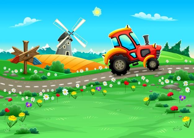 Vrtni traktor poskrbi za urejeno zelenico